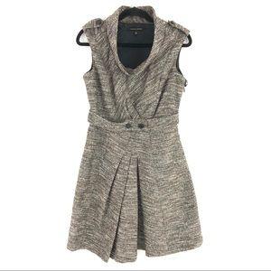 Cynthia Steffe Htay Tweed Cowl Dress 6